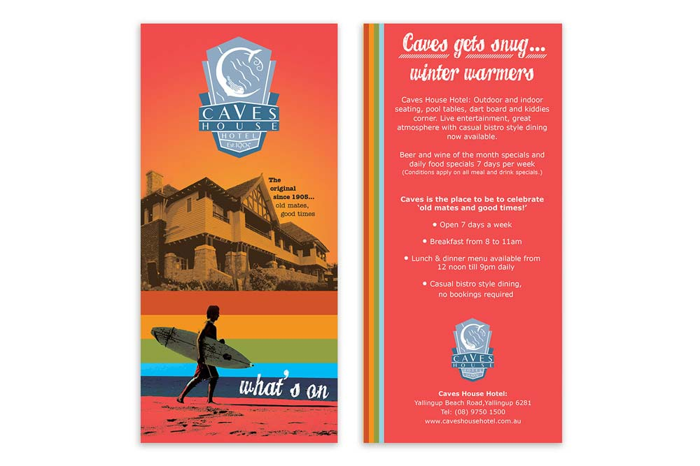 Flyer Design Dunsborough - Lucy Jordanoff