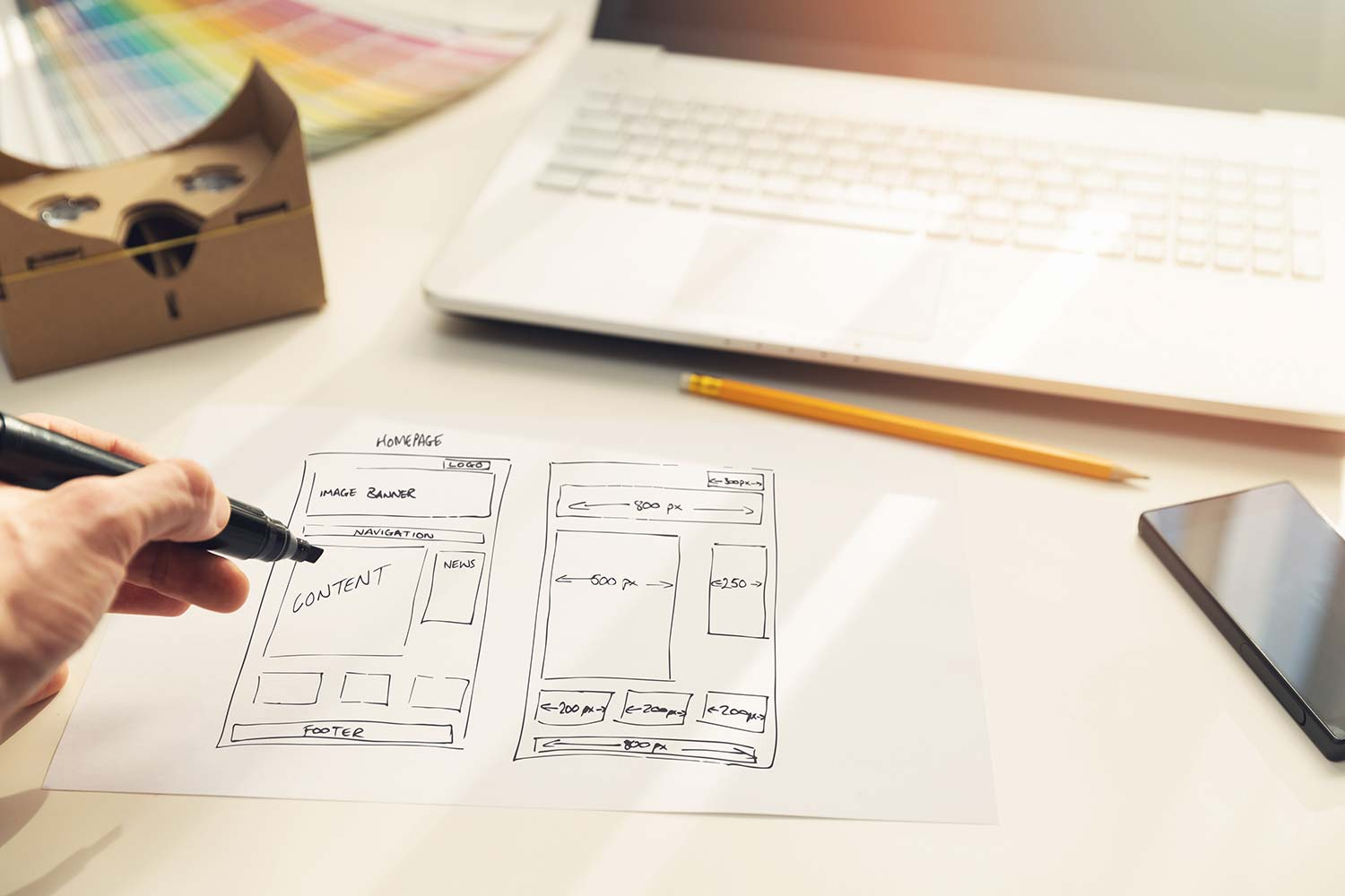 How To Plan A Website