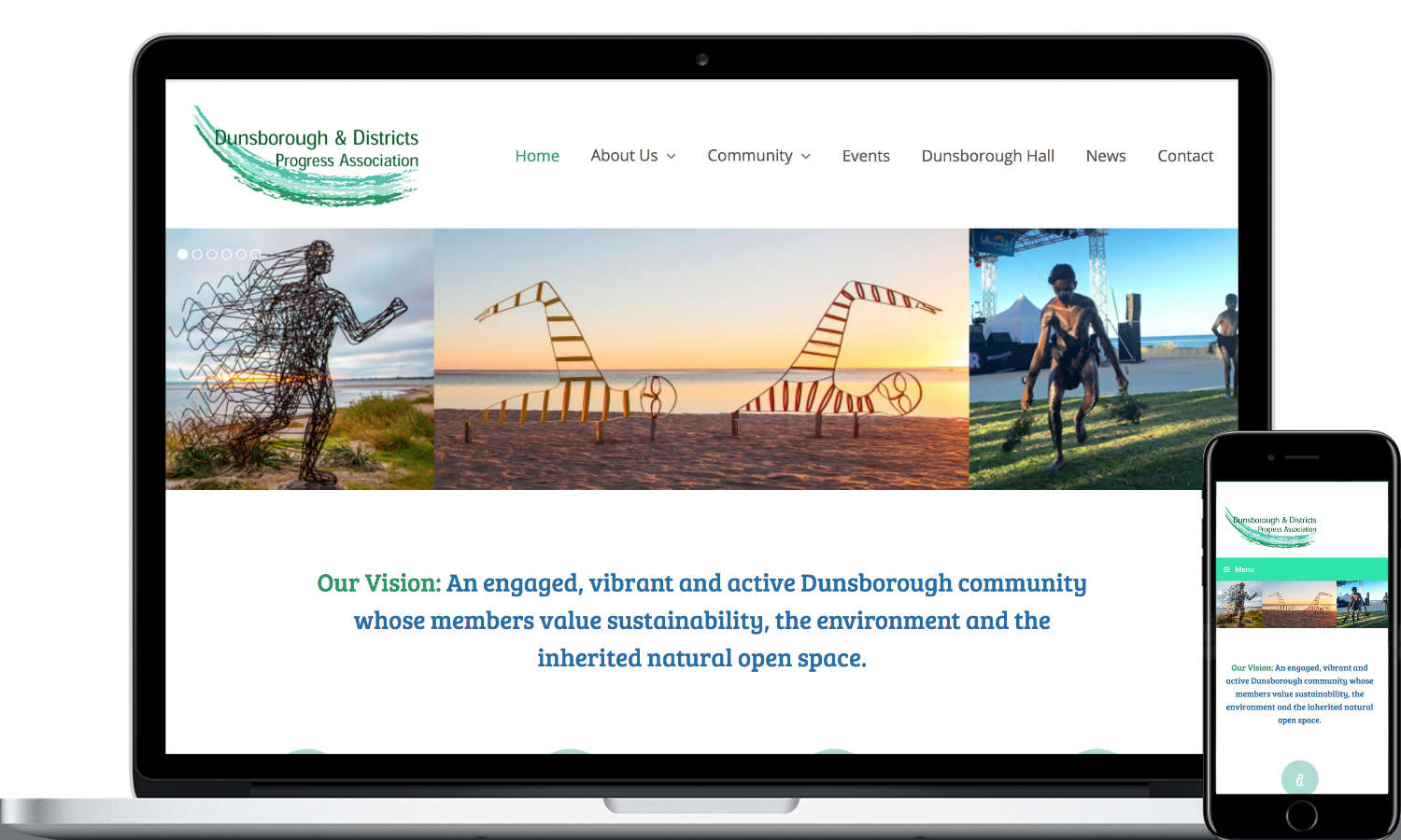 Lucy Jordanoff Web Design Dunsborough Progress