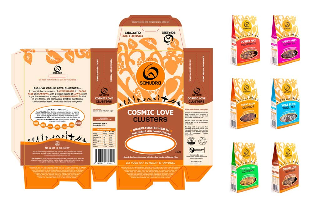 Packaging Design - Lucy Jordanoff