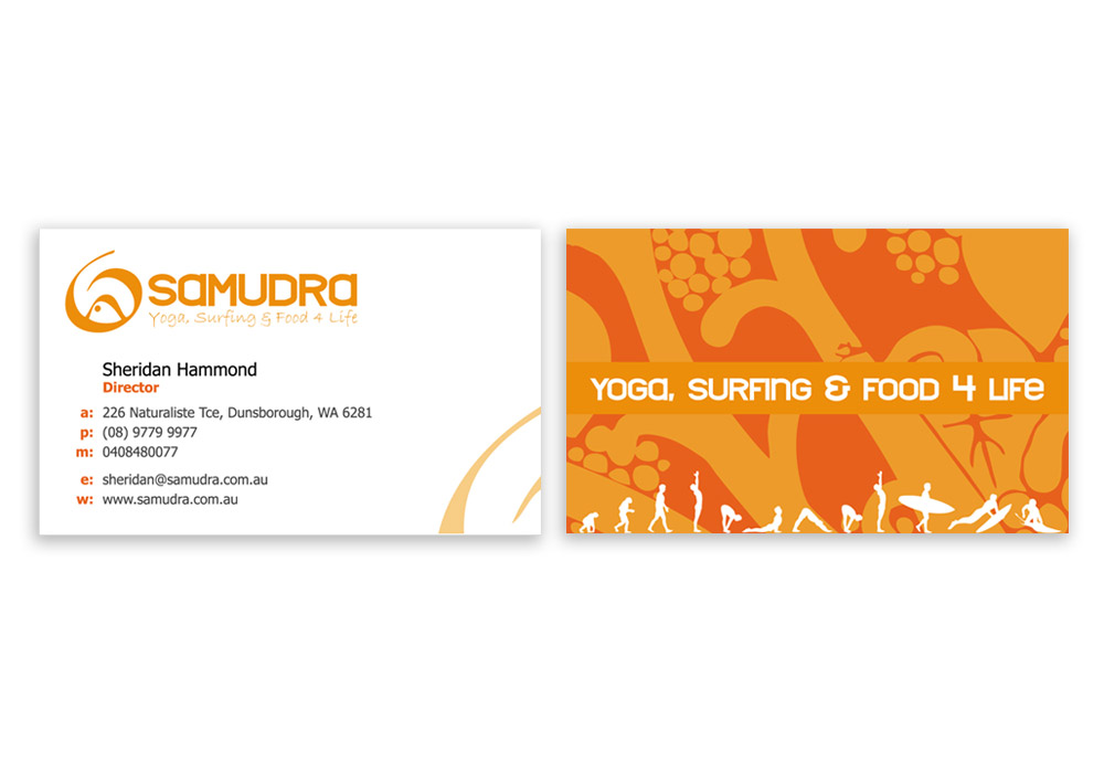 Business Card Design Dunsborough - Lucy Jordanoff